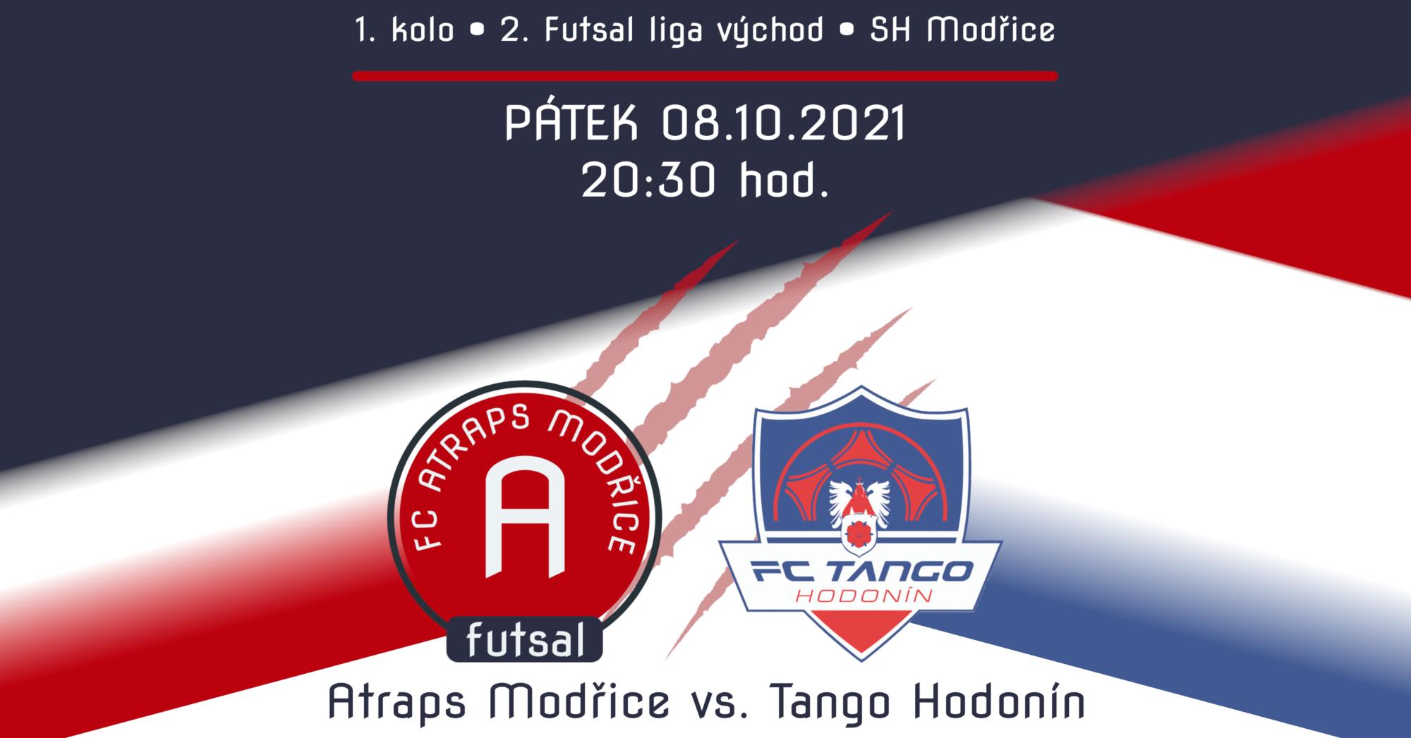 Plakát k utkání FC Atraps Modřice vs. FC Tango Hodonín