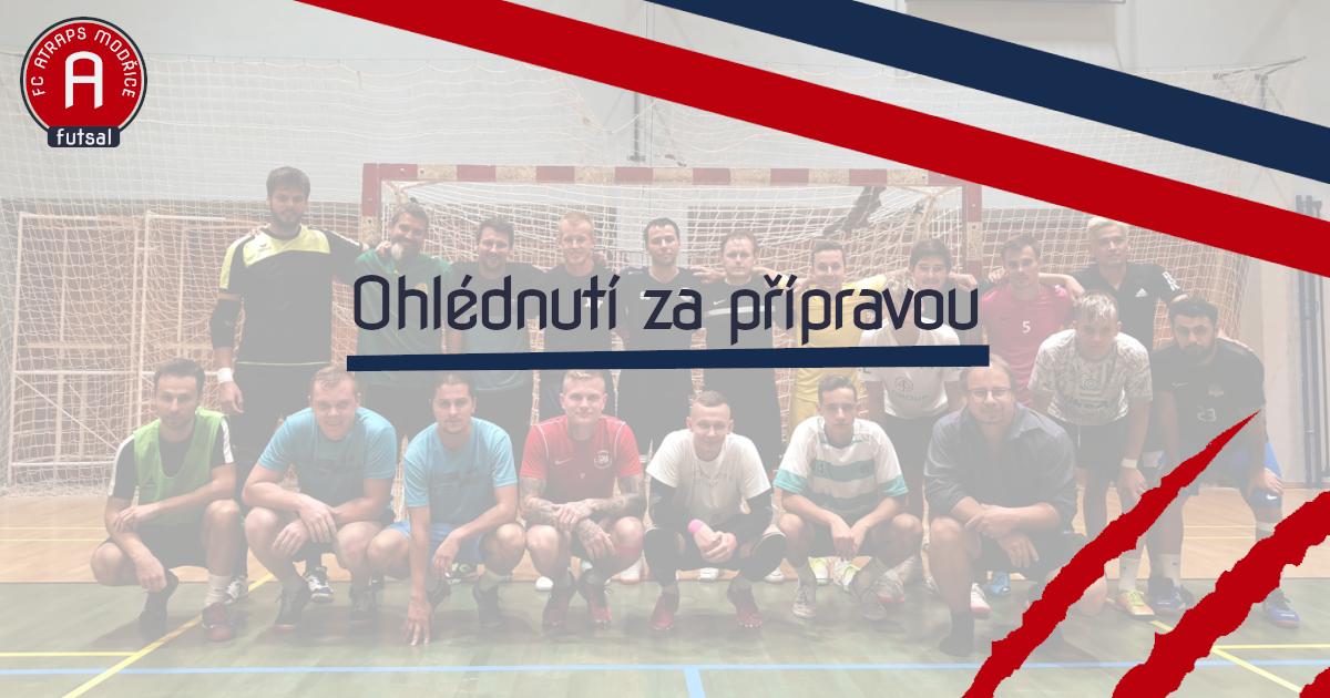 Týmová fotka FC ATraps Modřice a Agrotec Hustopeče